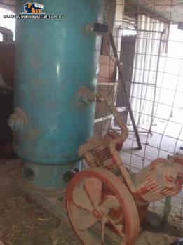 Compresor con tanque de presión