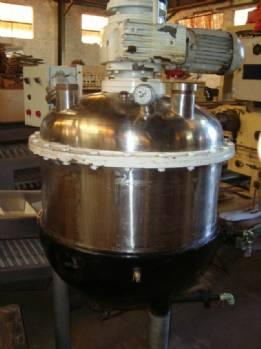 Acero inoxidable reactor 200 litros con camisa