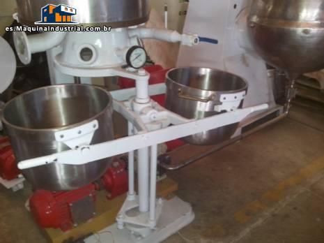 Línea de fabricación de dulces duros