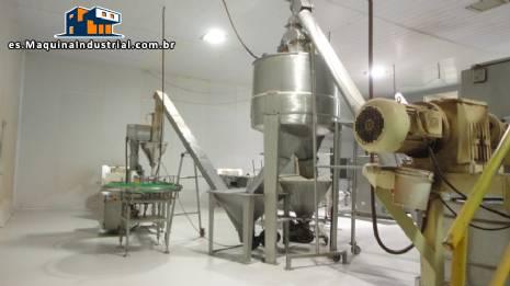 Alimentador de silos en acero inoxidable