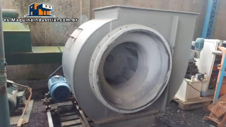 Ventilador industrial Projelmec modelo CLS - 900 R - 90