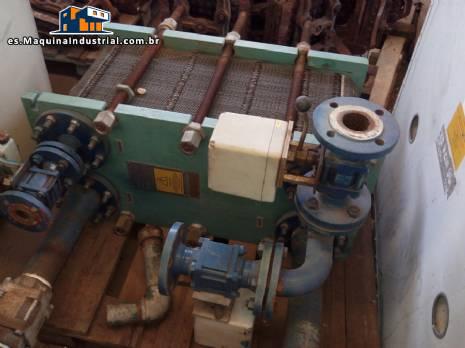 Placa intercambiador de calor alfa laval