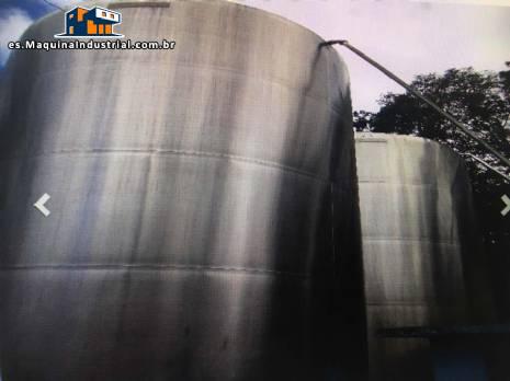 Tanque de acero inoxidable para 50,000 litros