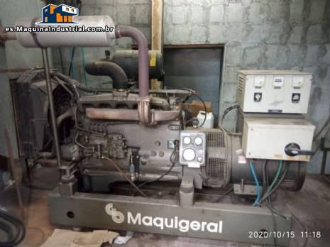 Generador de energía diesel