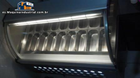 Maquina de helados e visualización