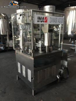 Encapsulador automático en acero inoxidable Zanasi IMA