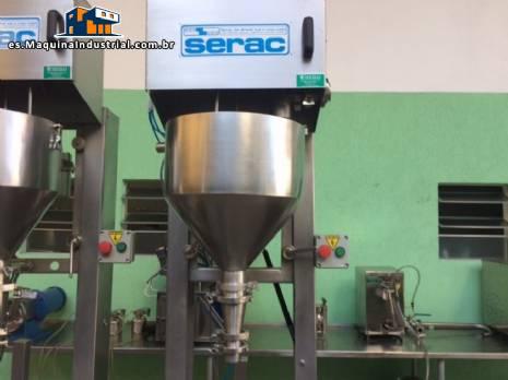 Máquina de envasado de líquidos semiautomática Serac