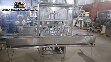Máquina de llenado con 6 boquillas Conserli