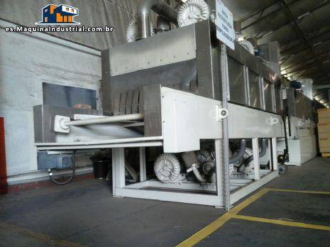 Máquina industrial para lavado de partes / plástico cajas Zirtec Proceco