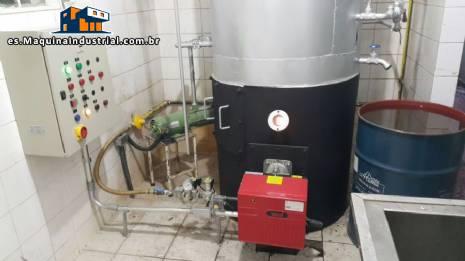 Caldera de gas por 250 kg hora