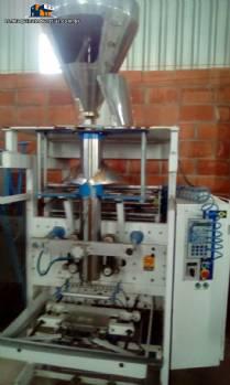Empaquetadora vertical en polvo con sistema de dosificación helicoidal Indumak